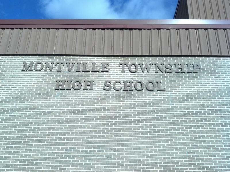 Montville High School Lettering – NJ Sign Company